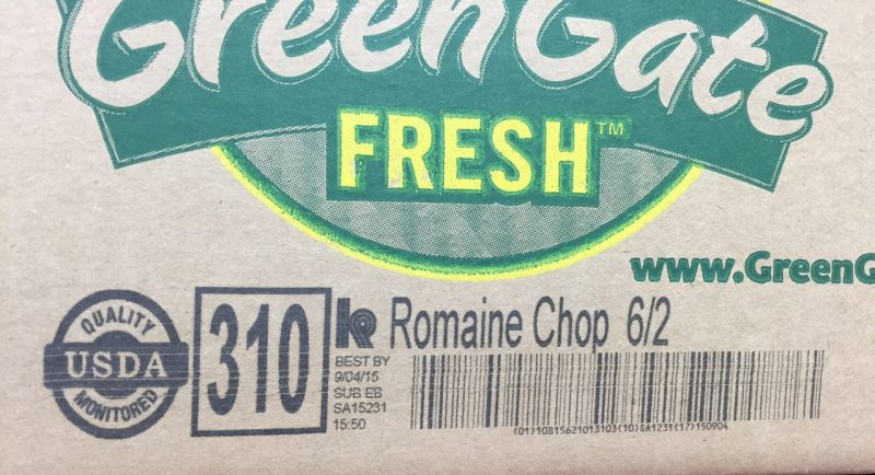 GreenGate Fresh Romaine Chop 6/2